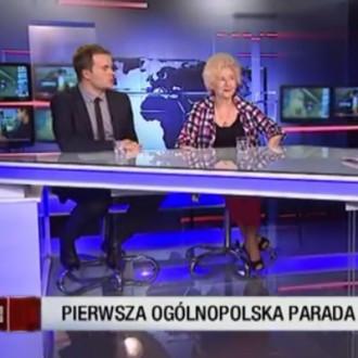 O Paradzie Seniora w telewizji Superstacja