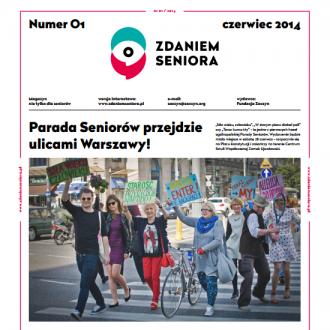 Parada Seniorów w magazynie Zdaniem Seniora