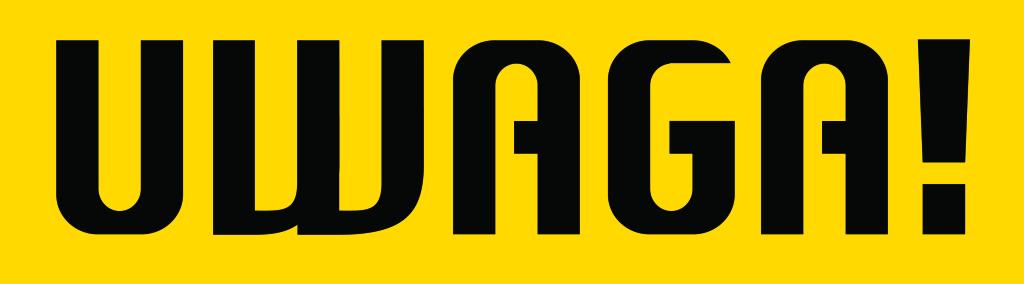logo_UWAGA_yellow
