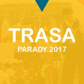 """TRASA: Parada Seniorów """"Dojrzali Wspaniali 2017"""""""