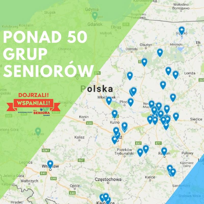 PONAD 50 GRUP ZORGANIZOWANYCH Seniorów