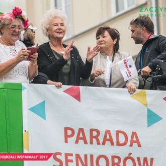 Oficjalna fotorelacja z Parady Seniorów 2017 [zdjęcia]