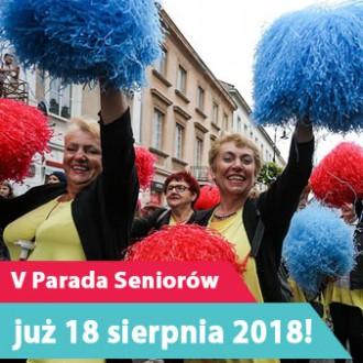 V Parada Seniorów już 18 sierpnia 2018!
