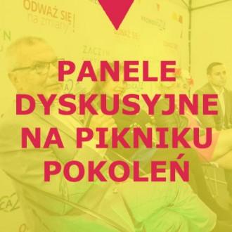 Panele dyskusyjne na Pikniku Pokoleń 2018