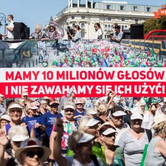 """Rekordowa Parada Seniorów """"Dojrzali Wspaniali"""" 2019!"""